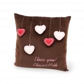 Подушка Choco: Сердечки