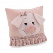 Подушка Свинка в юбке