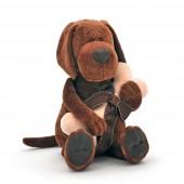 Пёс Барбоська с косточкой