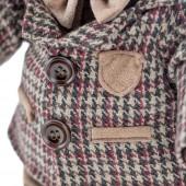 Choco стоячий в клетчатом пиджаке