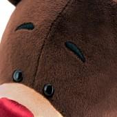Choco сидячий в ушанке