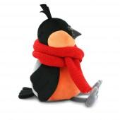 Снегирь: Красный шарф