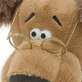 Пёс Шарик в очках