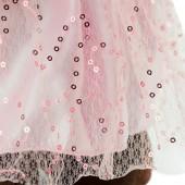 Milk стоячая в платье с блёстками