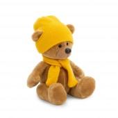 Медведь Топтыжкин коричневый: шапка / шарф