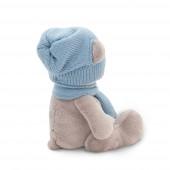 Медведь Топтыжкин серый: шапка / шарф