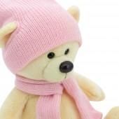 Медведь Топтыжкин жёлтый: шапка / шарф