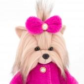 Lucky Yoyo: Розовая шубка с каркасом