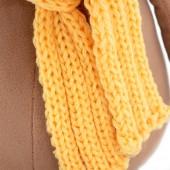 Бык в шарфике