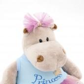 Бегемотик Принцесса: в голубом