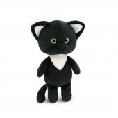 Котёнок чёрный